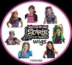 Monster Halloween Costume Monster Scaris Wig Halloween Costume Dress Hair Play