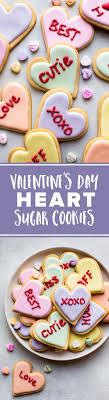 s day cookies s day heart sugar cookies sallys baking addiction