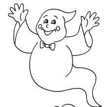 ghosts pumpkin coloring pages hellokids