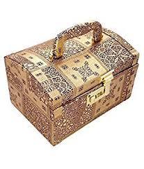 Vanity Box Pride Golden Makeup Vanity Box Amazon In Bags Wallets U0026 Luggage