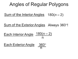 Formula For Interior Angles Of A Polygon Interior And Exterior Angles Of A Polygon Formula