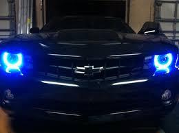 light blue camaro eagle headlights acc white blue halos 8000k hid 8000k hid
