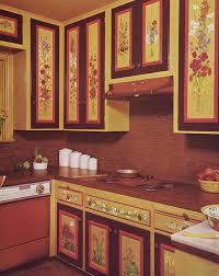 Decoupage Kitchen Cabinets The
