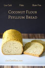 coconut flour psyllium husk bread paleo low carb yum