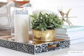 Decorative Trays For Coffee Table Impressive Coffee Table Tray In Home Ottoman Ikea For Trays