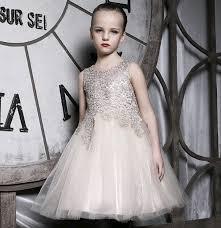 desain baju gaun anak desain yang mewah anak perempuan berlian merenda renda gaun pesta