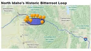 bitterroot mountains map where is the bitterroot loop bitterrootloop