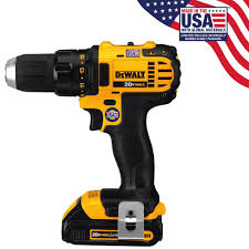 dewalt 20 volt max lithium ion cordless compact drill driver with