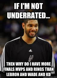 Kd Memes - if i m not underrated then why do i have more finals mvps and