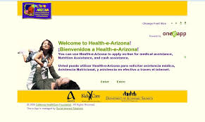 www healthearizona org u2013 get health e arizona medical assistance