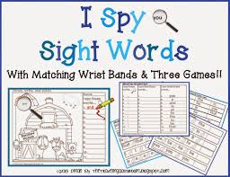 the traveling classroom free i spy sight words with interactive