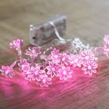 How To Decorate With Fairy Lights Also Pink Bedroom  Interallecom - Pink fairy lights for bedroom