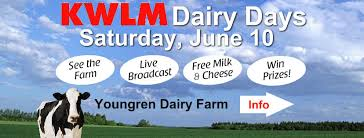 Q102 Willmar Operation Snow Desk Kwlm Dairy Days Broadcast At The Youngren Dairy Dairy Days