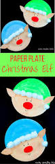 paper plate christmas elf craft arty crafty kids