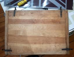 Reclaimed Wood Flag British Flag Serving Tray Diy Tutorial Before And After