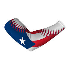 Puerto Rico Flag Puerto Rico Flag Baseball Lace Arm Sleeve From Sleefs Things I