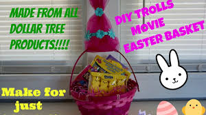 Dollar Tree Decorations For Easter by Diy Troll Movie Easter Basket For Only 4 Using All Dollar Tree
