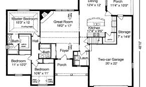 27 artistic ranch style house plans with open floor plans house