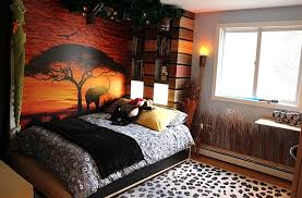 style room bedroom kids african bedroom with small grey comfort bed and small