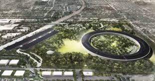 apple siege social à la découverte du futur siège social d apple en vol de drone