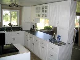 attractive design ideas white beadboard kitchen cabinets fresh