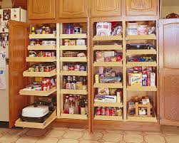 Oak Kitchen Pantry Storage Cabinet Oak Kitchen Pantry Storage