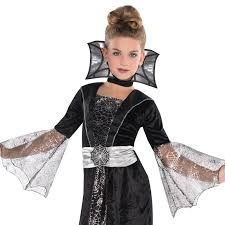 wicked witch west costume children girls wicked vampire witch goth spider queen halloween
