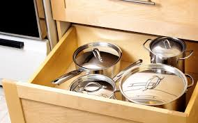 best kitchen cabinets store the best places to store large pots and pans taste of home
