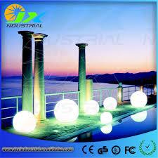 floating pool ball lights free shipping led globe light 30cm led floor garden light led