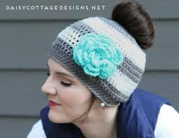 crochet pattern knight helmet free the best free crochet ponytail hat patterns aka messy bun beanies