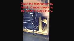 Sofa Recliner Mechanism by Adjust The Inside Release To Open Recliner Youtube