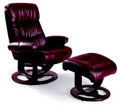 rebel leather recliner and ottoman lane 18521