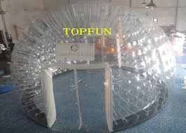 Bubble Tent 6m Diameter 1 0mm Pvc Inflatable Clear Bubble Tent With Double Layers