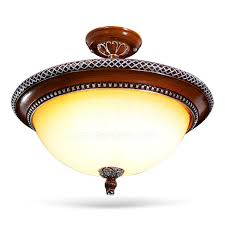 resin material master bedroom ceiling lights and glass shade