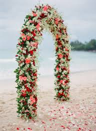wedding archways 25 stuning wedding arches with lots of flowers deer pearl flowers