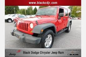 used jeep wrangler for sale in nc used jeep wrangler for sale in statesville nc edmunds