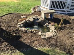 pre form pond renovation