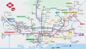 Barcelona Metro Map by Bcn Public Transports I Portfolio De Juliette Gaudin