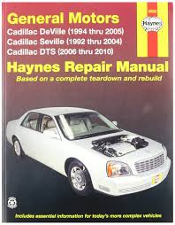 general motors cadillac deville and seville 92 02 manual