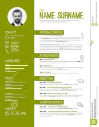 Best Resume Template App by Cv Resume Template Stock Vector Image 53067320