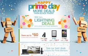 amazon black friday days amazon u0027s first prime day sales sees millions log on to get cut