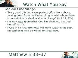 watch father of lights watch what you say matthew 5 ppt download