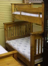 single over double pine bunk beds lloyd u0027s mennonite furniture