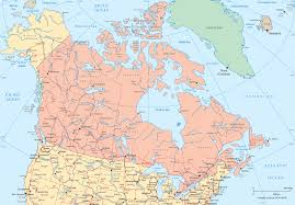 Ottawa Canada Map North America Political Map