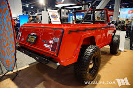 commando jeep 2017 2017 sema synergy jkc 1 jeepster commando