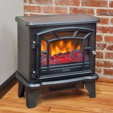 Electric Fireplace Stove Fireplace Furniture Duraflame Black Electric Fireplace Stove Dfs