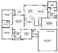 5 bedroom one story house plans decoration 5 bedroom floor plans 1 story house 2 with basement