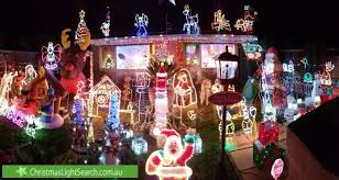 Christmas Decorations Online Melbourne by Burwood East Christmas Lights 12 Cornish Road Christmas Light