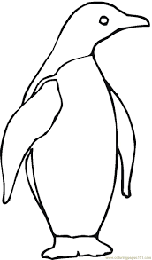 penguin coloring pages coloring pages kids