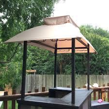 replacement canopy for sunjoy bar shelter riplock 350 garden winds